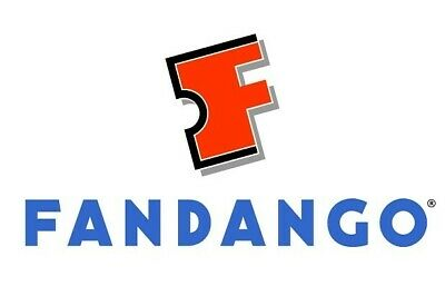 4 FANDANGO Movie Tickets voucher up to $56.00 gift card