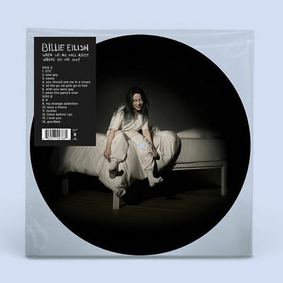 Billie Eilish When We All Fall Asleep Where Do We Go Spotify Picture Vinyl UK