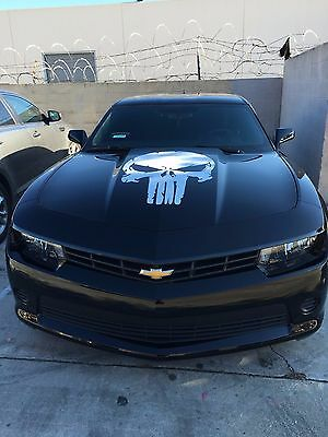 Punisher Skull With Guns Racing Vinyl Hood Decal Vinyl Sticker Graphics Any car truck vehicle removable cut-out