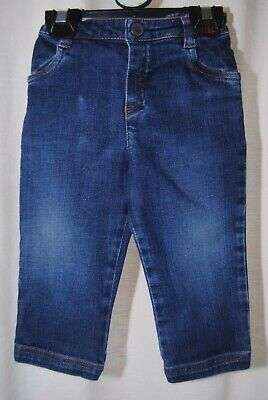 Baby Dior / Christian Dior Boys Blue Jeans Age 12 Months