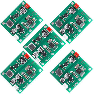5X DC 5V 12V 24V Bluetooth Amplifier Module 5W Mono Output Wireless Music Player