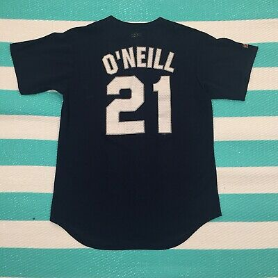 huge selection of 16523 8540b VINTAGE PAUL O'NEILL Yankees Jersey Size Medium M NY Majestic MLB 90s New  York