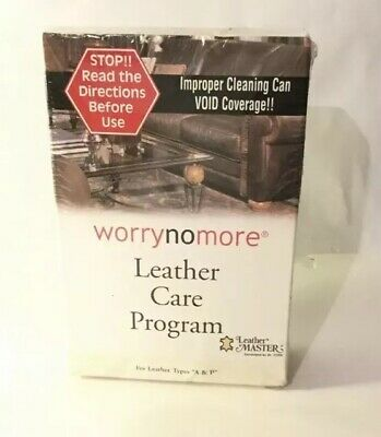 "Worry No More Leather Care Program (for Leather Types ""A & P"") Sealed"