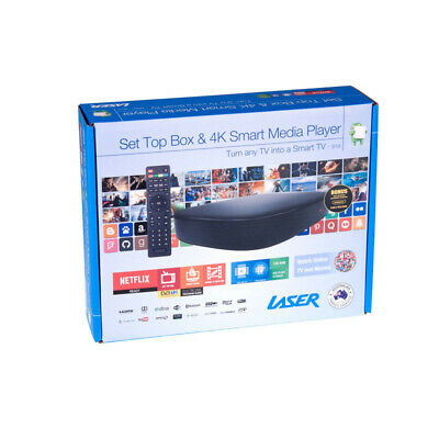 Laser  set top box & 4k smart media player  MMC-B18