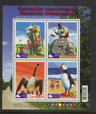 Canada Roadside Attractions   S/S....Mnh...#2