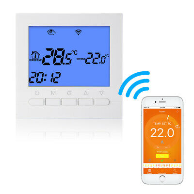 WIFI LCD Sans Fil Programmable Thermostat Floor Heating App Contrôleur BI811