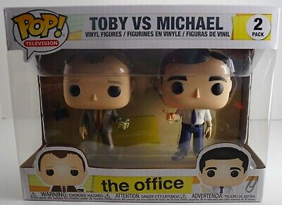 Funko Pop Television The Office Toby VS Michael 2 Pack