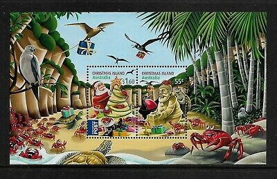 CHRISTMAS ISLAND 2012 Christmas, mint mini sheet, MNH MUH