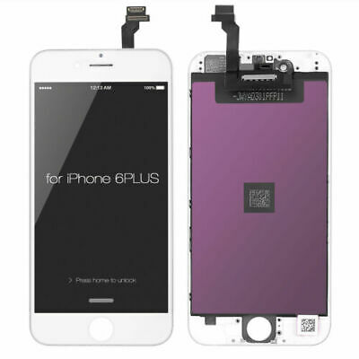 iPhone 6 Plus LCD Display Touch Screen Digitizer Replacement White AAA Grade