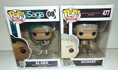 2) Pop! Comics Saga #08/477 DECKARD Alana Funko SET LOT Vinyl Figure SEALED **