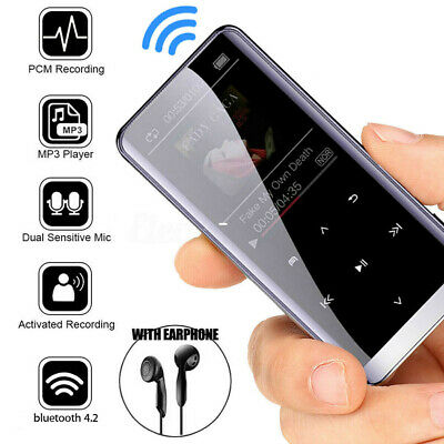 MP3 Music MP4 Radio Player FM HIFI Recorder Bluetooth Media 32GB Speakers Sport