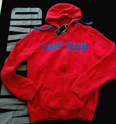 camp david fleece jacke kapuze