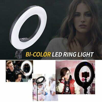 14'' 3200-5500K Wirelesss Dimmable LED Ring Light for Phone Camera Video Makeup