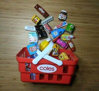 Coles little shop series 1 & 2 Pick Your Own OR FULL SET w/ basket FREE POST