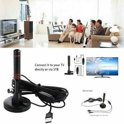 Portable TV Antenna Indoor Outdoor Digital HD Freeview Aerial Ariel UK Best 2019