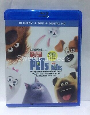 The Secret Life of Pets (Blu-ray disc & Case ONLY)