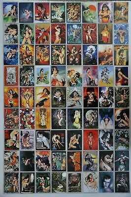 Vampirella Trading Base Card Set 72 Cards Breygent 2011