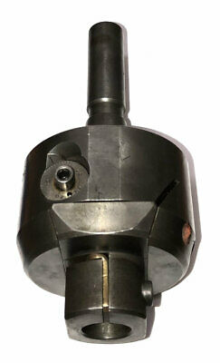 Everede Usa Model No.3-50 Adjustable Boring Head W/ R8 Taper Shank Bridgeport