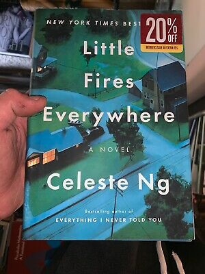 Little Fires Everywhere by Celeste Ng (2017, Hardcover/Dust Jacket Brand New