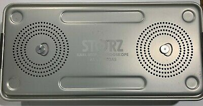 Karl Storz Endoscope Sterilization Tray with All Covers and Insert  KSZ- 39402AS