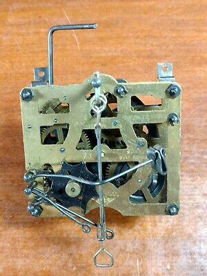 Vintage E Schmeckenbecher Regula Cuckoo Clock Movement Made In West Germany