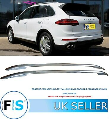 Roof Rack Cross Bars for Porsche Cayenne Facelifting 14 with open roof rails