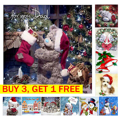 Full Drill DIY 5D Diamond Embroidery Painting Cross Stitch Christmas Gift Decor
