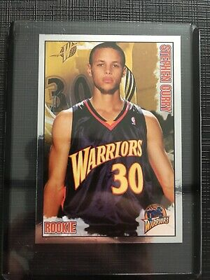 Stephen Curry Rookie Sticker-Panini NBA Basketball STARS 2009/2010 - EXCELLENT