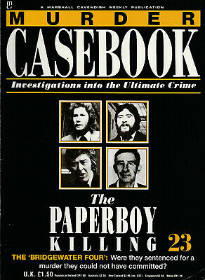 MURDER CASEBOOK Magazine Issue 23 - The Paperboy Killing (1990)