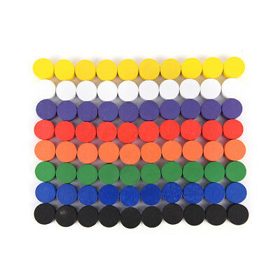 100pcs 10*5MM 8 Colors Pawn Wooden Game Pieces Pawn//Chess Boardgame AccessorieBP