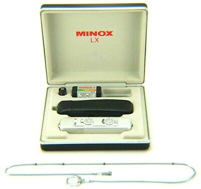 1984 Minox LX Camera, Case and Measuring Chain. Serial # 252-3234 (Metric)