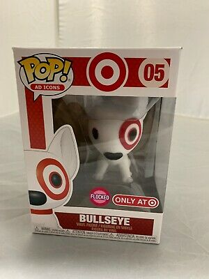 Funko Pop Flocked Bullseye Target Exclusive 2019 SDCC Debut Ad Icons #05 Dog New