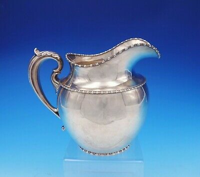 Marquise by Goodnow and Jenks Sterling Silver Water Pitcher #25 (#3556)