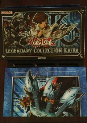 Yugioh Legendary Collection Kaiba Box with Game Mat