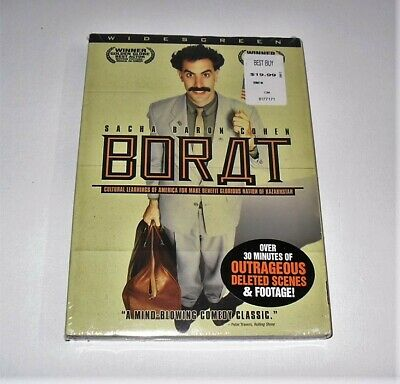 Sacha Baron Cohen Borat Dvd Movie Like New