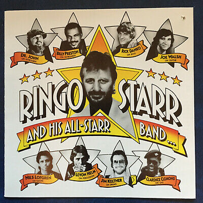 RINGO STARR and His All-Starr Band... CD 1990, Ryko - SOLID SILVER no ifpi NM
