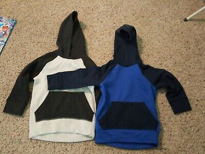 Jumping Beans Toddler Boy Hooded Sweatshirts, Lot Of 2, 2t