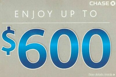 Get NOW! CHASE $600 Coupon Link! $300 Checking + $200 Savings +$100  Exp OCT 10