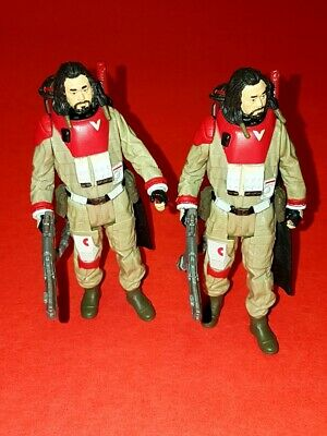 Lot of 2 Loose Star Wars Force Link Baze Malbus Rogue One