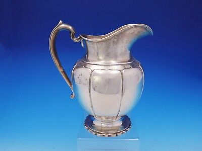 Irish Antique by Richard Dimes Sterling Silver Water Pitcher #773 (#3587)