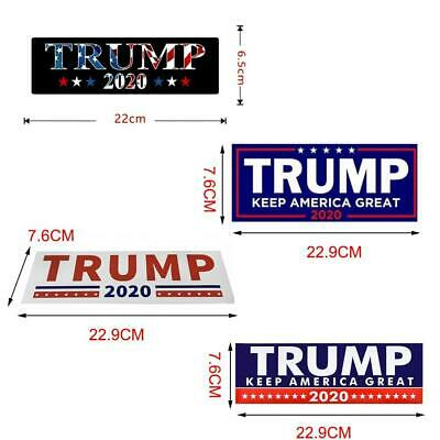 10PCS Donald Trump For President 2020 Bumper Sticker Keep Make America Great Set