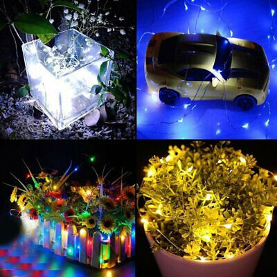 AA Battery Operated 3m/10ft 30 Leds LED Copper Wire String Fairy Lights Lamps#O