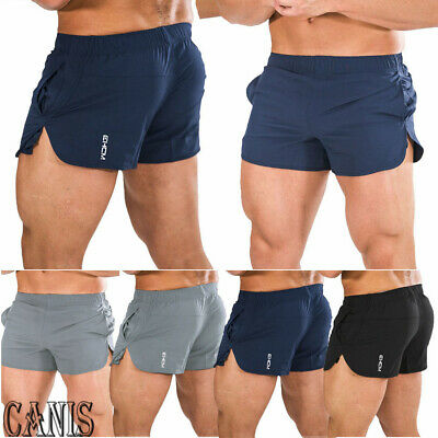 AU Men Beach Swim Shorts GYM Training Running Sport Workout Jogging Trunks Pants