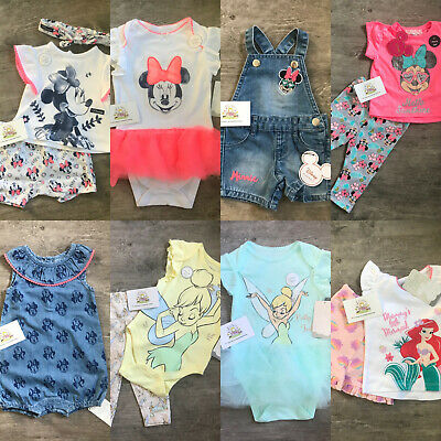 DISNEY BABY Girls Outfit Clothes Summer Spring Character Primark Infants Gift