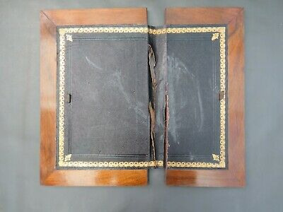 Antique or vintage writing slope boards flaps spares parts