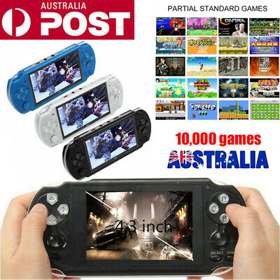 """AU 4.3"""" 8GB Portable Video PSP Handheld 10000 Game Built-In Console Player Gift"""