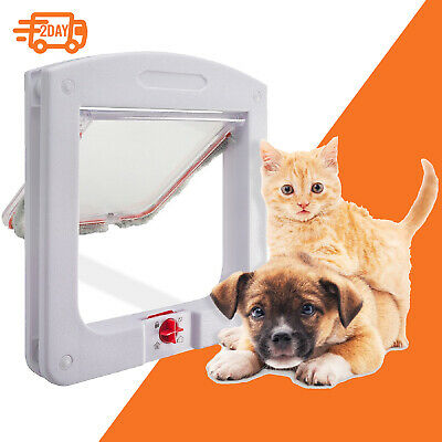 Extreme Weather Pet Door Dog Doors Exterior Cat Entry Large Dogs Heavy Duty M L