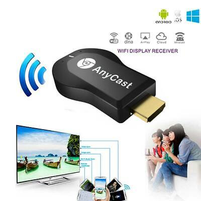 Wireless WiFi Anycast Video Display Miracast M2 Media Airplay TV Dongle Receiver