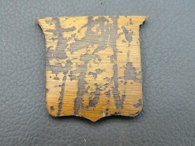 Antique writing slope or box brass cartouche spares parts
