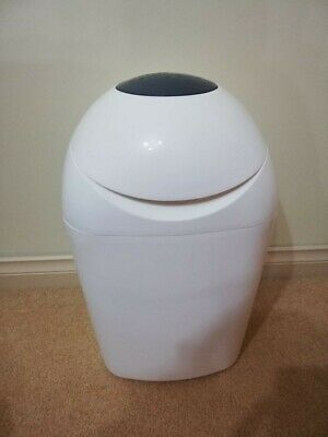 TOMMEE TIPPEE Sangenic Nappy Disposal Bin, White